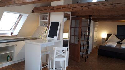 Photo for Stylish gallery space near the old town (2 min.) - Whole apartment - High-Speed In