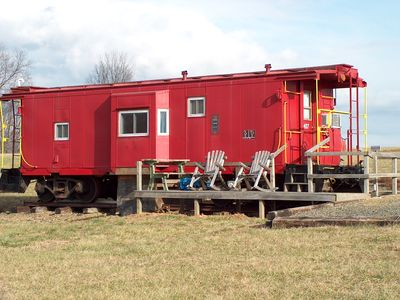 Photo for #407 - Authentic Railroad Cabooses And Depot Just Off The Blue Ridge Parkway