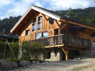 Photo for Chalet Mizou - Beautiful chalet for 6-7 people in a great location