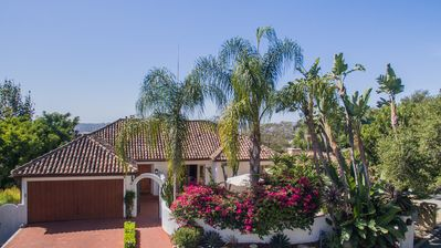 Photo for Sweeping Ocean Views, Gated Garden