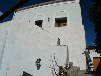 Photo for Cycladic Typical House - Sea View - Lots of charm