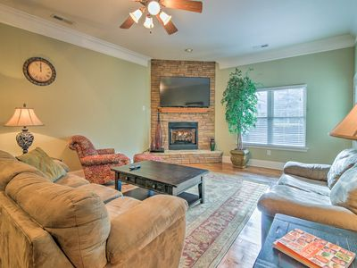 Photo for Young Harris Villa w/Patio- Walk to Lake Chatuge!