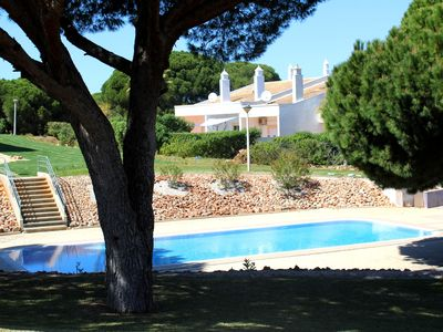 Photo for Fantastic 2 bedroom villa nicely furnished with pool air conditioning Albufeira