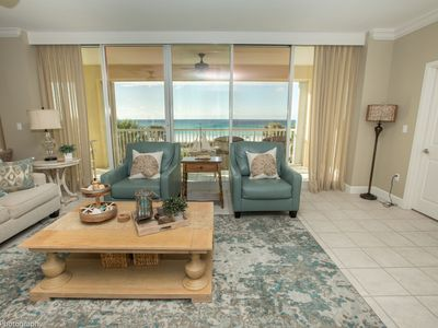 Photo for Oceania 202 3 BR Gulf Front with great views and Sleeps 10