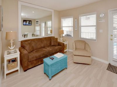 Photo for Sea Rocket 28 North Redington Beach NEW Beautfully Decorated 1 Bedroom 1 Bath