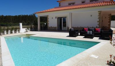 Photo for Stylish house with pool,superb location near to beach and restaurants.