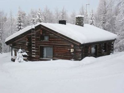 Photo for Vacation home Mustalampi 1 joutsenlampi in Kuusamo - 8 persons, 1 bedrooms