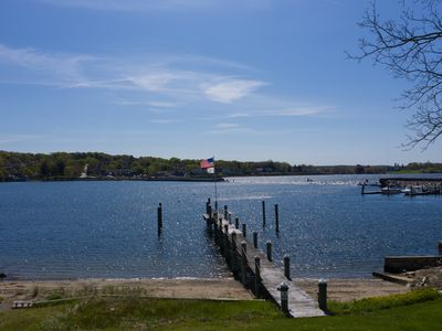 Photo for Waterfront Home with Beach and Dock