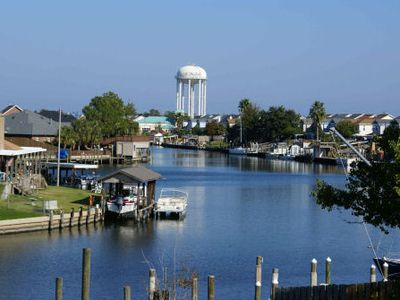 Photo for Slidell, LA ~ Terrific Waterfront Condo, Just 20 mins to New Orleans, Boat Slip