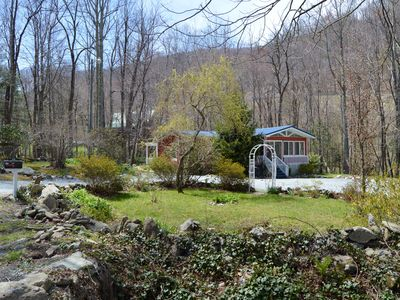 Photo for 'Got Rocks' 1 acre on Watauga River, Gazebo, Flat yard, Close to Golf Courses