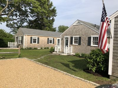 Photo for Edgartown Jewel - Private yet close to everything & along the bike path