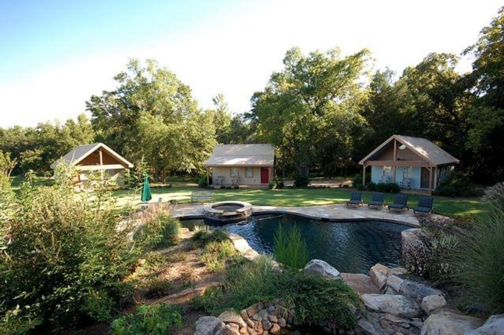 Callaway Garden Cabins. Greenville Estate Rental   Waterfall \u0026 Pool  Area Adjacent To 3