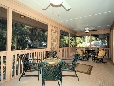 Front Entrance - Screened Porch