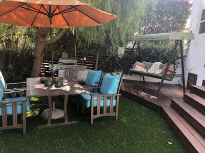 Photo for Lovely, open airy home -in West Hollywood accommodates 6 people and pet friendly
