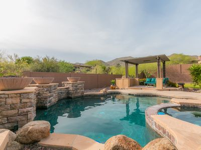 Photo for Sonoran Solitude with peaceful Mountain Views, luxury and style!!