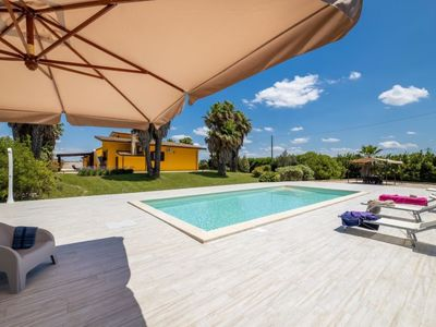 Photo for 3 bedroom Villa, sleeps 8 with Pool and Air Con
