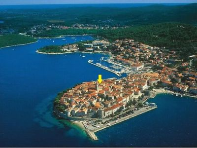 Photo for Apartment JUSTINA - OLD TOWN , KORCULA