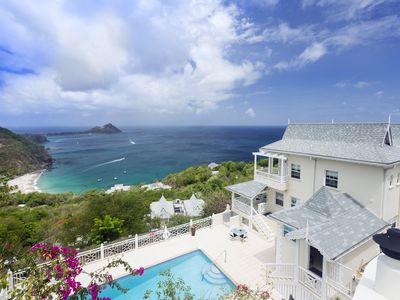 Photo for New villa with captivating views of the Caribbean Sea