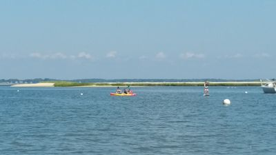 Peconic Bay only a mile away