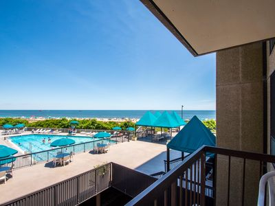 Photo for Bethany Beach Condo with a View Direct Ocean Front in Sea Colony