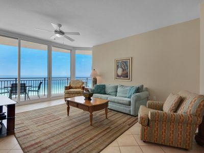 Photo for 1211 - 2B/2 Bath with Bunks. Master Bedroom & Living Room Face the Gulf!