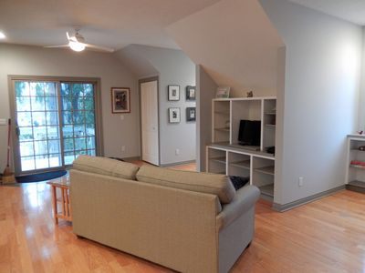 "Photo for Clean, Close and Convenient Apartment ""On the Hill"" in Saugatuck"