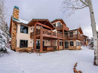 Photo for 18 Ashley Court Home (4 Bedrooms): 4 BR / 5 BA  in Park City, Sleeps 9