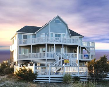 Photo for Semi Oceanfront 5 bed, 3 bath Avon w/ private pool & hot tub