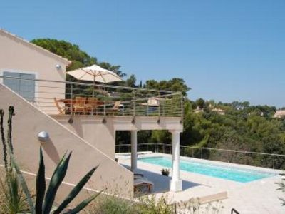 Photo for VILLA IN THE PRIVATE DOMAIN OF the CAP BENAT, Bormes les Mimosas
