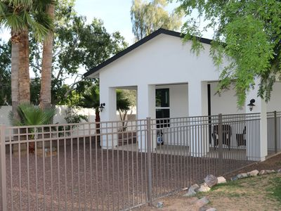 Photo for BEAUTIFUL FULLY FURNISHED GUEST HOUSE IN THE HEART OF SCOTTSDALE
