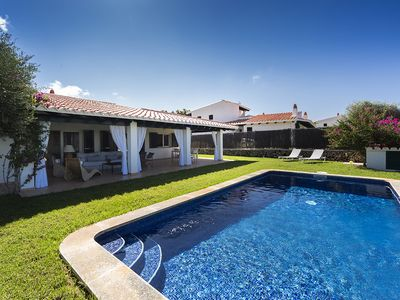 Photo for Beautiful villa in Cap den Font 30 m from the sea with possibility of buoy