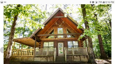 Photo for The Colorado Cabin is a perfect getaway with a Hot Tub, Foosball Table and WiFi.