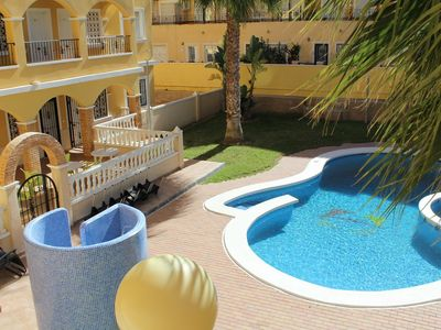 Photo for Comfortable Two Bedroom Apartment with Communal Pool, Aircon & Free Wi-Fi