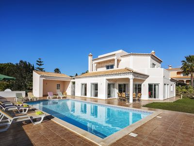 Photo for Oliveiras - Beautiful, contemporary 4 bedroom villa with large pool and enclosed garden, walk facilities, air con & WiFi