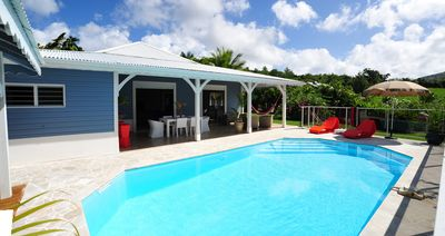 Photo for Magnificent villa wooden Creole large standing near the southern beaches
