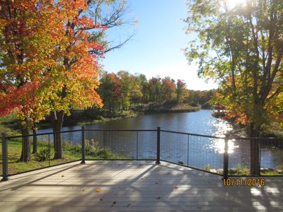 Photo for Blueberry Pond - Large Home on 140 acres: Upstate NY, Salmon River, Lake Ontario