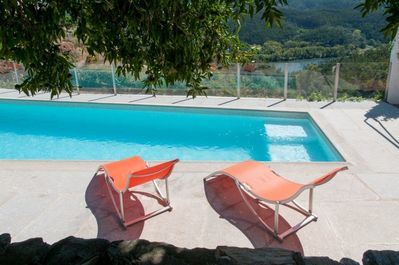 Pool with Douro valley views