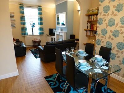 Photo for Filey Holiday House in  N. Yorkshire - Sleeps 5+Baby -FREE WI-FI