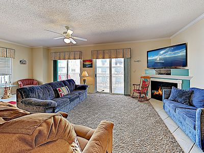 Photo for New Listing! Stylish Whispering Sands Condo w/ Pool & Balcony - Near Beach