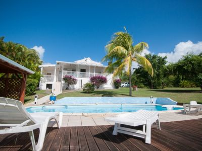 Photo for Creole house with private pool and large garden