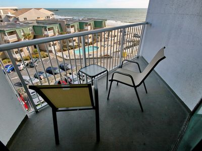 Photo for Amazing Coastal Views, Updated Sands Ocean Club Condo, King bed, sleeps 2