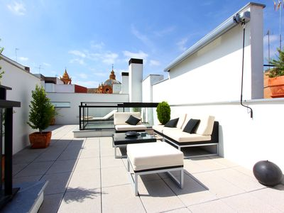 Photo for Corral del Rey Terraza Sevilla Duplex, chillout terrace