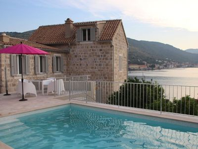 Photo for SUPERB VIEWS, NEAR SEA, SHOPS, RESTAURANTS, ON UNSPOILT ISLAND OF VIS, FREE WIFI