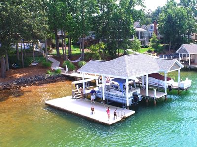 Photo for Beautiful Smith Mountain Lake Side Home