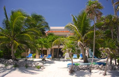 Photo for Affordable Beachfront Villa: Sandy Beach, Pool, Internet, Cook, Sleeps Up to 10
