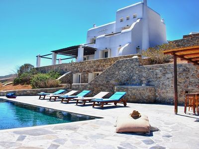 Photo for Apartment in Mikonos with Internet, Washing machine, Air conditioning, Pool (740922)