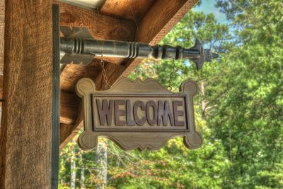 """Welcome to the """"Sportsman's Lodge"""" and all it's comforts!"""