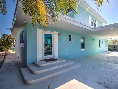 Photo for Large family home with dockage and Cabana Club on Key Colony Beach!