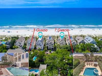Photo for 7 Guscio Way- Direct OCEAN FRONT Home w/ Elevator, Pool & Spa