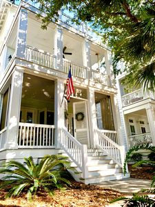 Photo for Luxurious Cottage | Gulf Front Gated Community l Porches | Private Beach 2 blks